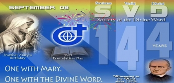 The message of Father General on the occasion of the 144th foundation anniversary of the Society of the  Divine Word